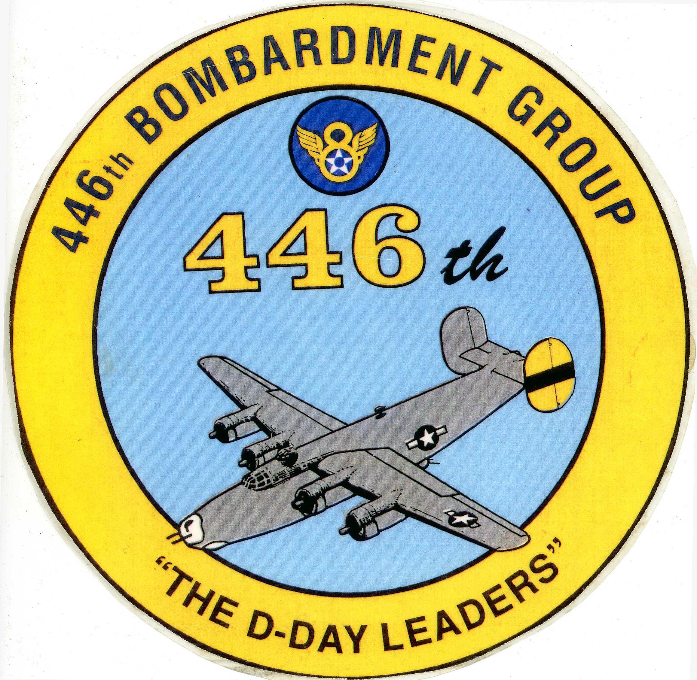 446 BG DDay leaders logo