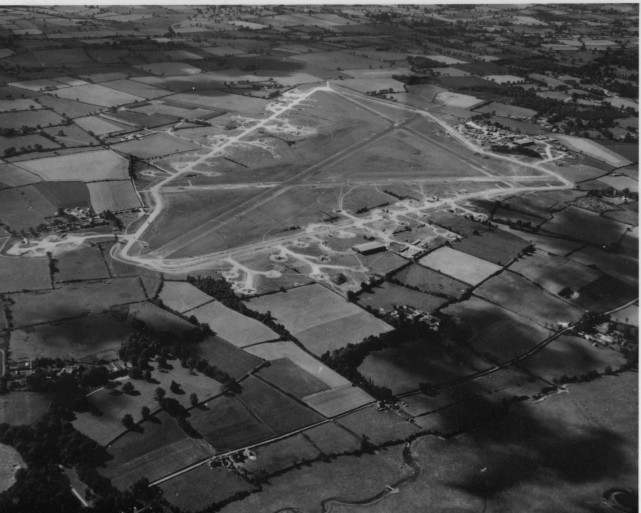 Flixton airfield in 1944